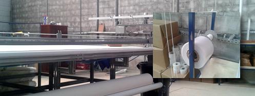 Produção de Cortina Rolô para Sacada Envidraçada da Rolonflex