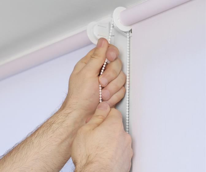 Qual o melhor lugar para se usar uma cortina rolô?
