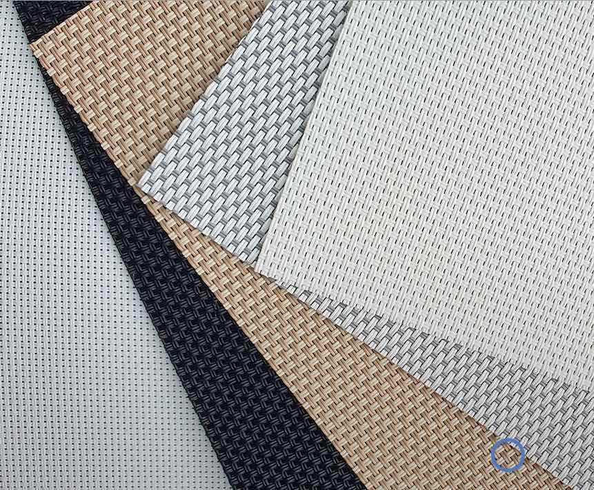 Conheça os tecidos para cortina rolô que nós trabalhamos